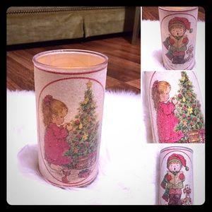 🦋2/$10 3/$15 4/$18 5/$20 Vintage Christmas Candle